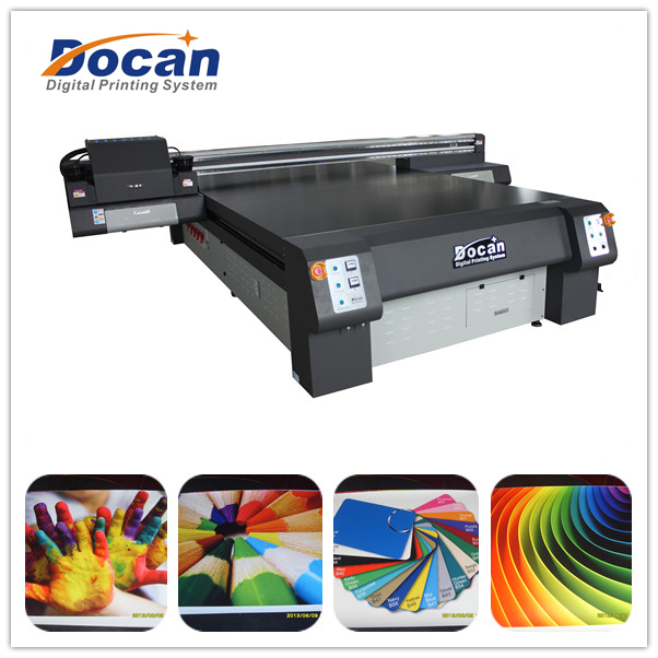 2.05m*3.2m Docan digital flatbed printing machine on glass,acrylic,wood,metal,stone,ceramic
