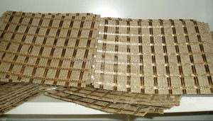 Fiberglass Geogrid Compound With Polyester Nonwoven Geotextile for Europe Market