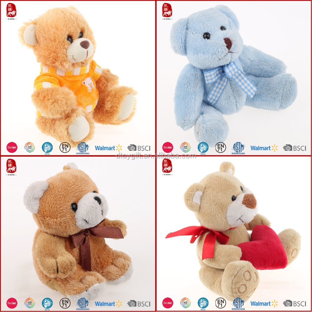 Chinese Manufacture Carnival Prizes Stuffed Animals Teddy Bear