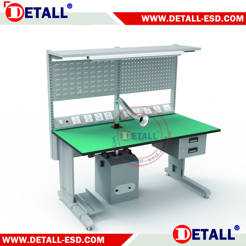 Anti Static Electrical Work Bench With Esd Rubber Mat