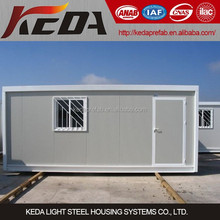 Portable prefabricated house container tiny house for living