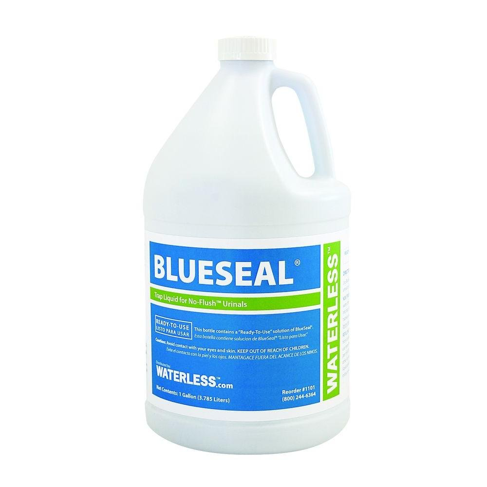 Waterless 1101 1-Gallon BlueSeal Urinal Trap Liquid