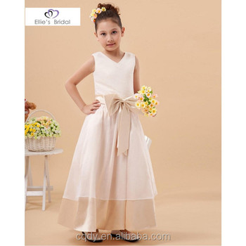 Beautiful Girls Princess Wedding Dresses Formal Girls Party Dresses