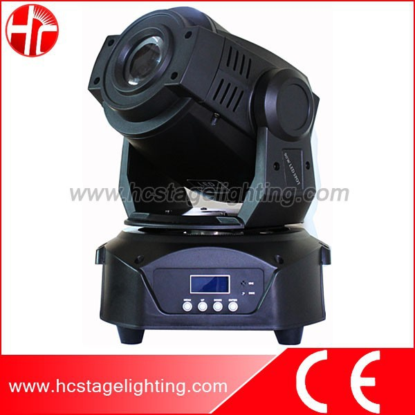 light for stage decoration gobo 75w led movinghead spot