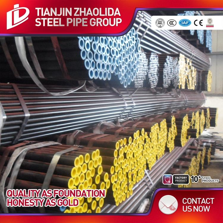 bared/ color painted/ galvanized/ oiled surface painting black iron pipe