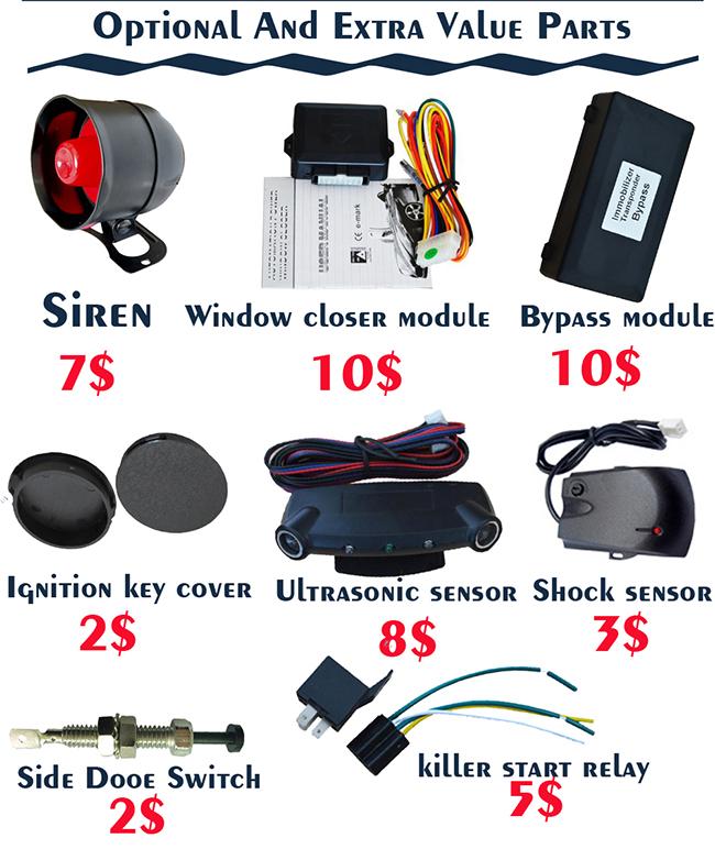 Buy Cheap cardot gps gsm car alarm tracking software Smart Phone Remote Engine Start car central lock unlock pke car alarm