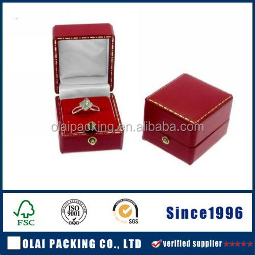 yiwu 2015 handmade attractive custom made recycle paper ring box
