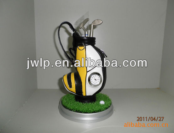 Office table Golf table pen container suits