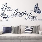 Myway Wall Decals Quotes Vinyls Stickers Wall Sticker Room Home Decor,butterfly wall stickers