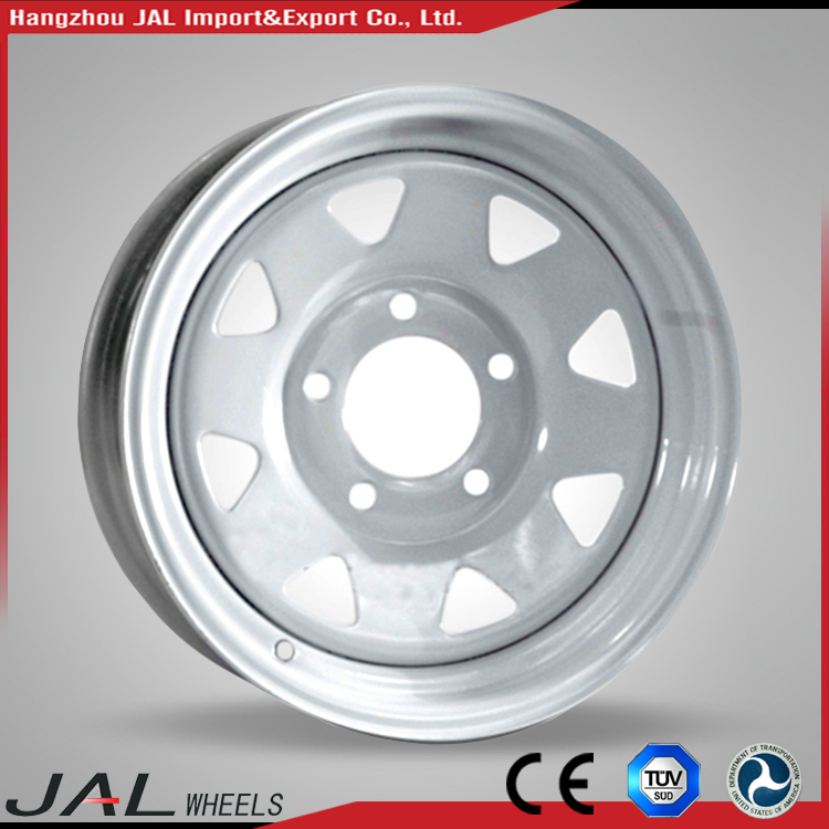 "Hot Modular Steel Wheels Blanks 16"" 4x4 Wheel Rim For SUV"