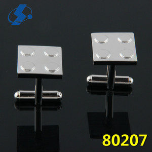 Wholesale High Welcomed Blank Cufflink Square Silver Mens Specialized Production Luxury French Cufflinks