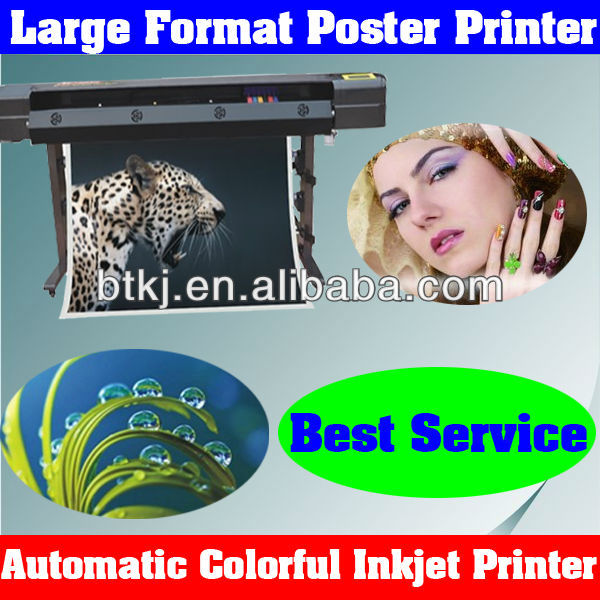 Flatbed Auto Inkjet Printer Machine Suitable for Poster Printing,Automatic Large Format Digital Pro Inkjet Printers Machine