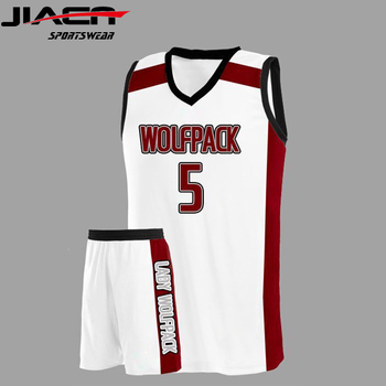 7862208c491 Custom breathable blank blue youth basketball uniform sets sublimation basketball  jersey with oem logo