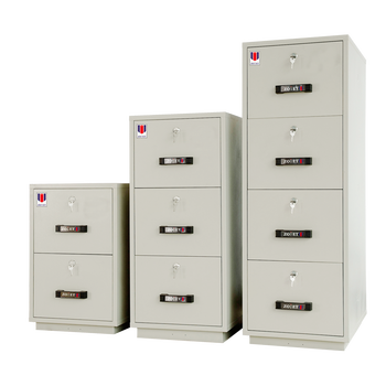 Fire Resistant Filing Cabinet Complying With Jis Rating