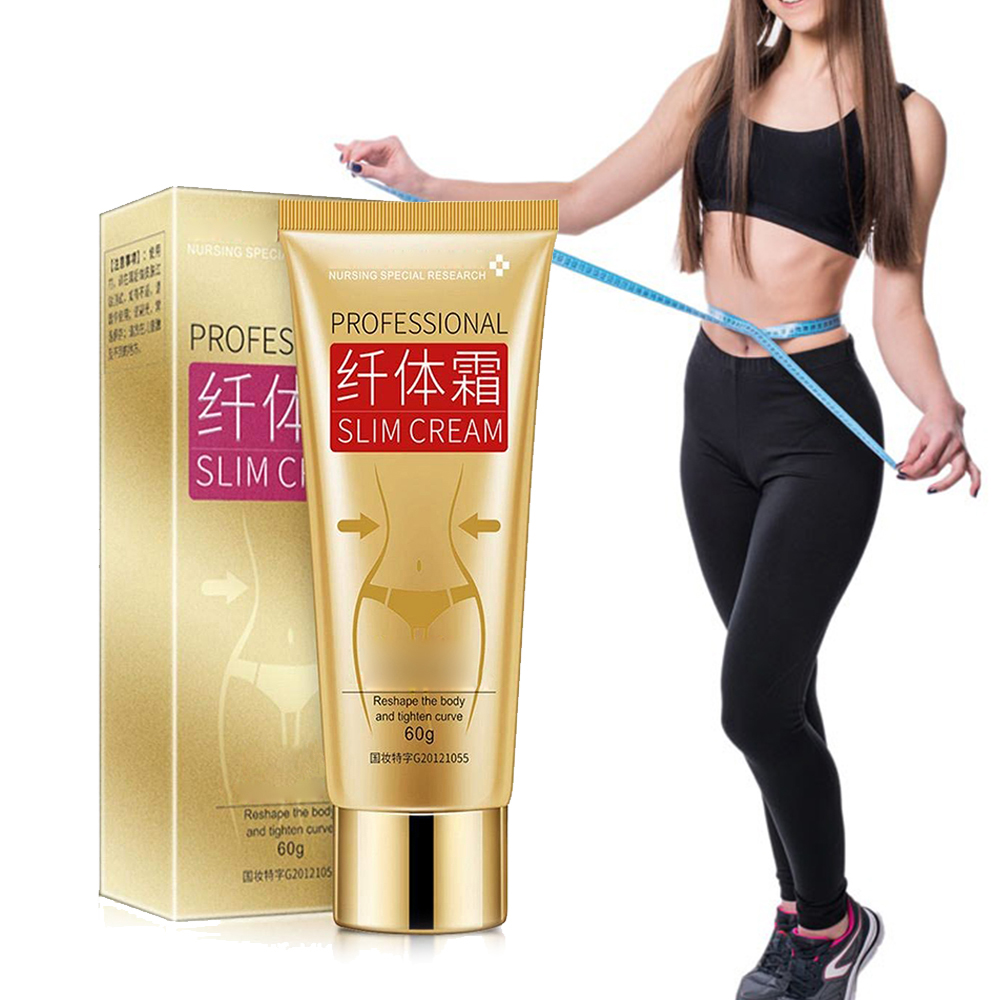 60ML No Side Effect Weight Loss Fat Burning Gel Body Gainly Slimming Cream