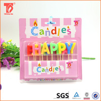 China supplier cake decoration birthday candle