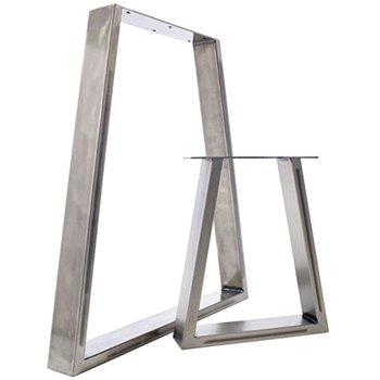 Antike Mobel Accossory Metall Typ Couchtisch Beine Matt Silber
