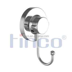 Tinco Rustproof Stainless Steel Coat Hook with Suction Cup Supporting 20kg