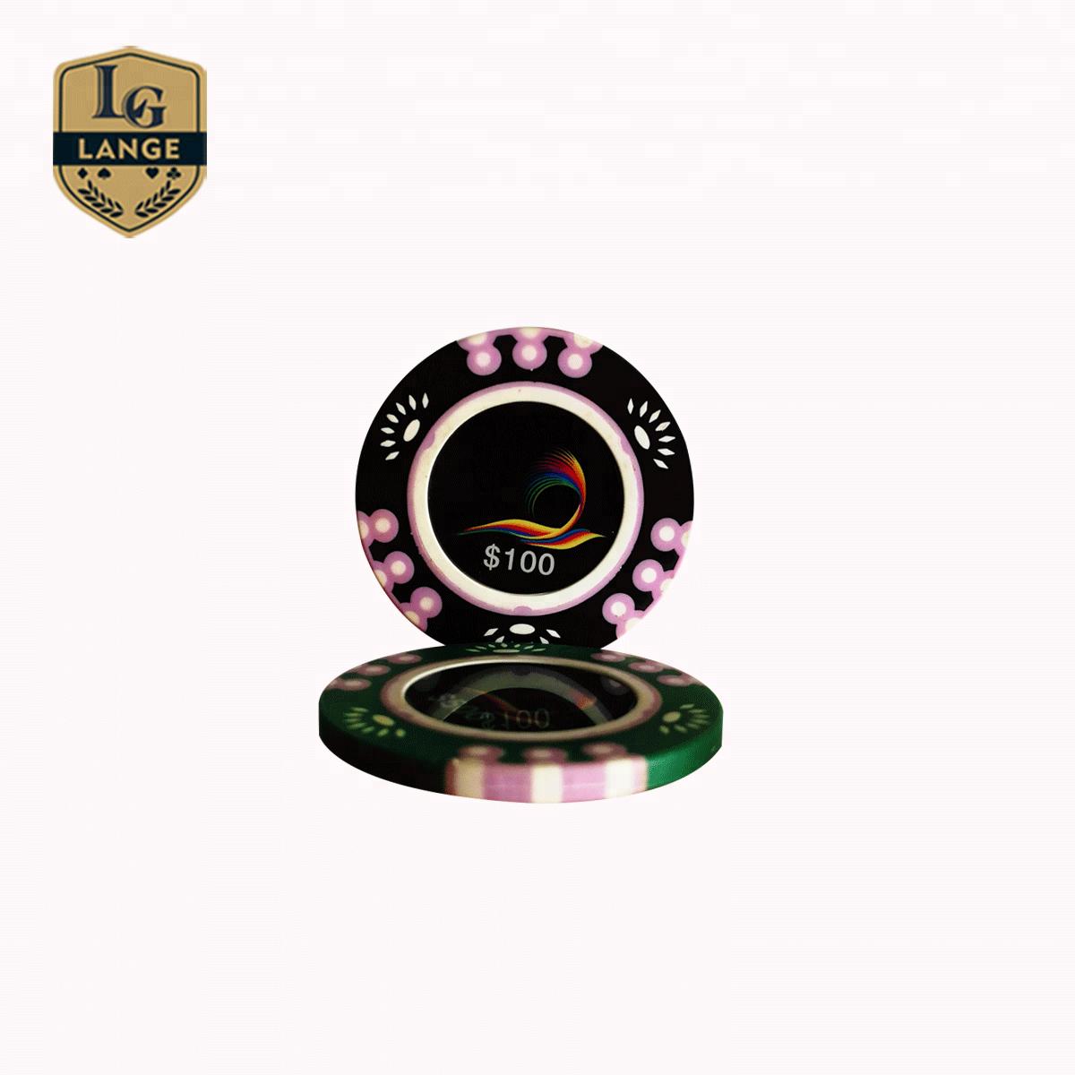 14g 3 Ton Wert Injiziert Nylon Poker Chips Texas Holdem Poker Chip