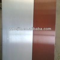Soldered exterior wall copper clad aluminum metal material
