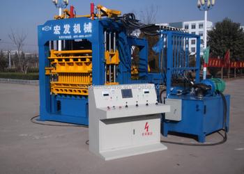 Automatic Concrete Cement Block Brick Making Machine