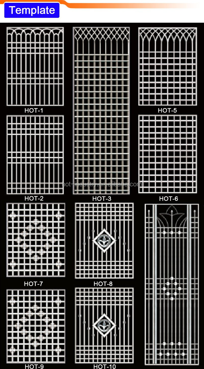 luxury stainless steel security entry door graceful design single