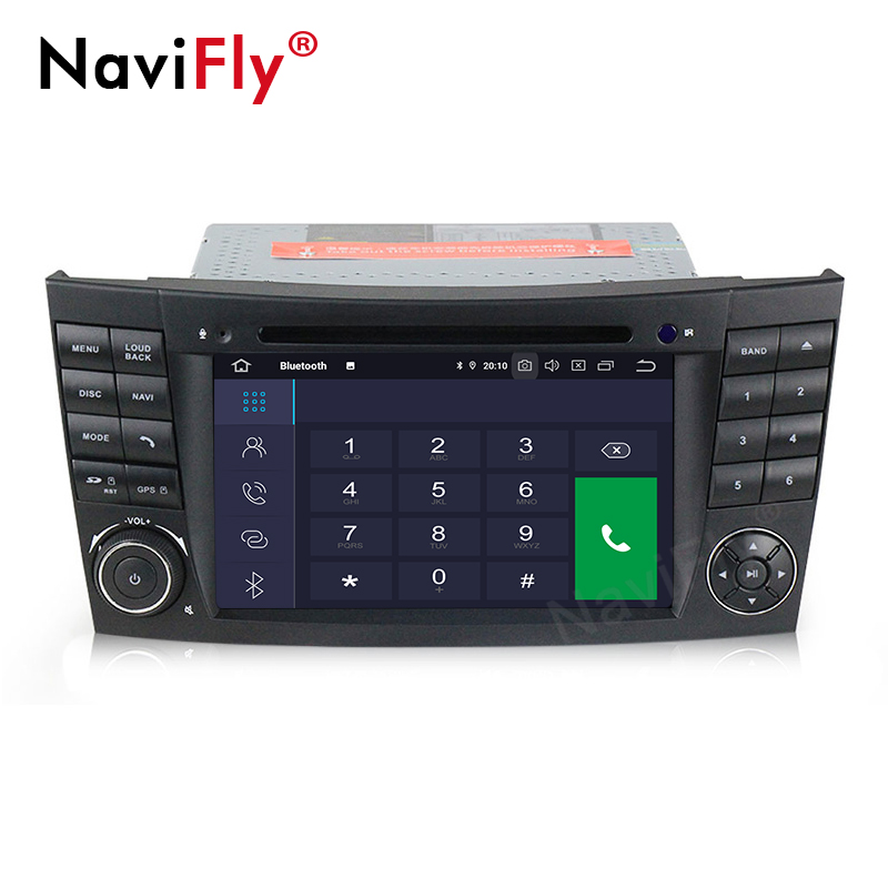 "NaviFly 7 ""IPS + DPS 2DIN PX30 Android 9.0 Car Audio Player per Mercedes Benz E-W211/E200 con di NAVIGAZIONE GPS 2GB + 16GB"