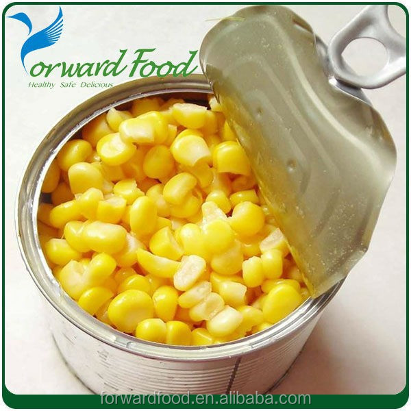 Healthy And Yummy Canned Sweet Corn Kernels 340g In Can