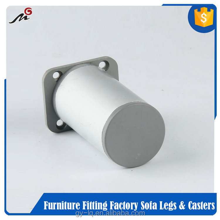 2016 hot selling promotion adjustable square metal furniture legs MG10-18