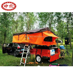 factory customized small travel camper trailer
