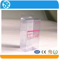 China Factory Price folding box plastic wine glass display box
