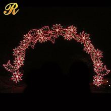 Commercial led decorations party decoration wing