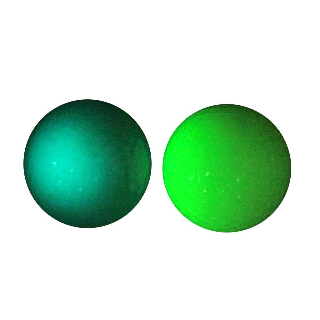 MonkeyJack 2 Pieces Golf Luminous Ball Training Practice Balls Fluorescent Tournament Tennis Ball Gift