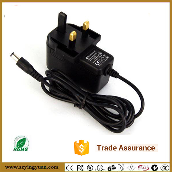 DoE VI and CoC V5 output 5V 2A switch power adapter 8 Ft. Long DC cable AC-DC Power Supply Adapter for 5V air purifier