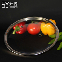 Eco-friendly Tempered Glass Lid for Cookware G Type