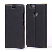 Cell Phone Flip Cover Leather Book Case for Huawei Nova