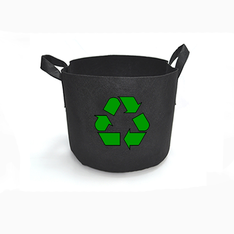 Eco Felt Grow Bag Container Root Planter Pot