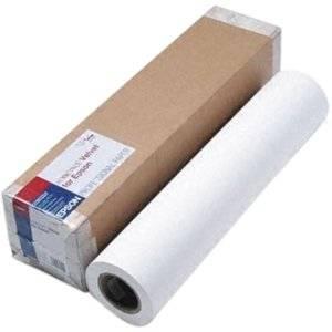 """Epson Somerset Fine Art Paper . A1 . 24"""" X 50 Ft . 255 G/M . Velvet . 36 Brightness . 1 . White """"Product Type: Supplies/Printing Media"""""""