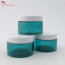 High Quality Eco-Friendly Empty Cream Colorful Container,200ml Black Cosmetic PP Jars Plastic