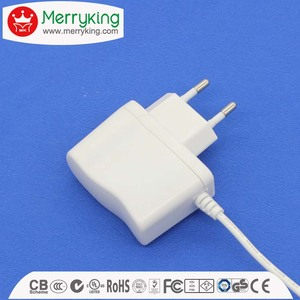 made in china ac adapter 6v 1200ma max 7.2va 6 volt 1.2a 7.2w wall eu power adapter