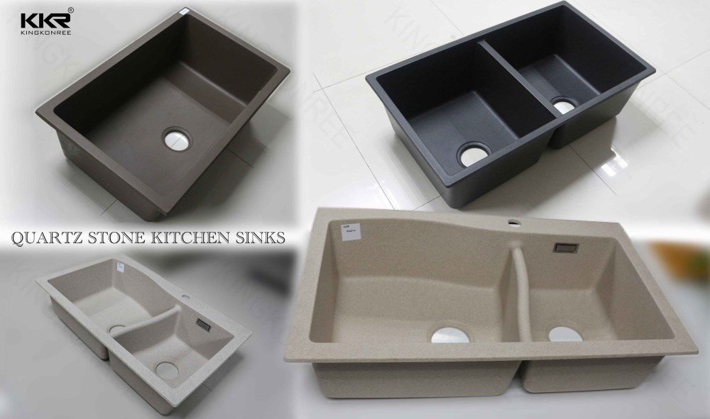 Kkr Building Project Solid Surface Acrylic Kitchen Sinks