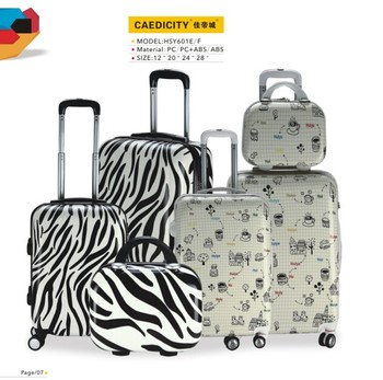 Airport Supermarket Websites Hard Travel Trolley Abs Pc Bags Horse ...