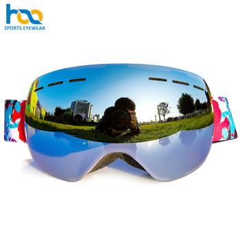 314e5bc7f Óculos de proteção quentes feitos sob encomenda profissionais da neve do  esqui da venda óculos de