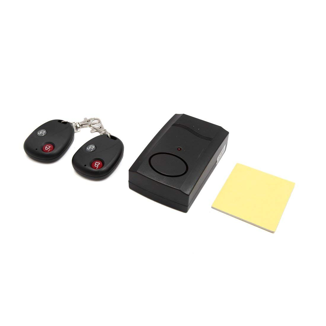 uxcell Motorcycle Wireless Security Anti-theft Alarm System w Dual Remote Control