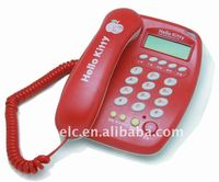 Red Caller ID Phone