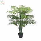 2020 YIWU new design hot sale wholesale artificial indoor decoration artificial palm tree plant