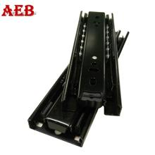 Furniture drawer glides 45mm linear slide bearing telescopic channel with china cabinet hardware
