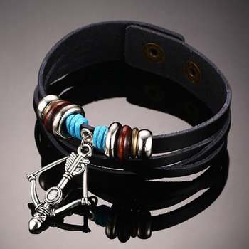 Leather Pull String Bracelet Bracelets For Men