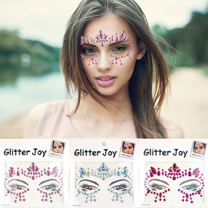 Wholesale Crystal 3D Eye Makeup Stickers