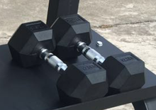 Conjuntos de halteres de fitness dumbbell da borracha do hex AMA-9939H-1 <span class=keywords><strong>cantão</strong></span>